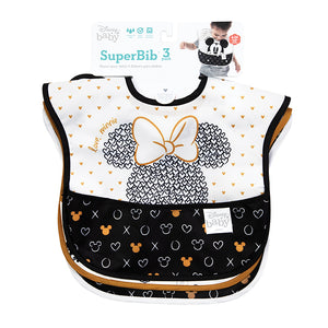 Disney - Superbib 3pk - Love Minnie