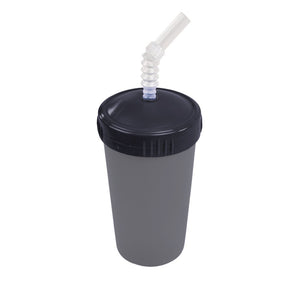 Re-Play Straw Cup Lid & Straw - Black