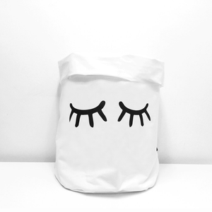 Fabric Storage Bag - Mimi (Eyelashes)