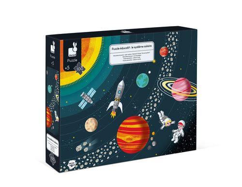 PUZZLE - SOLAR SYSTEM - 100 pc Educational