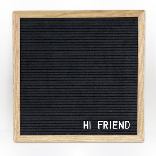 LETTER BOARD - UNICYCLE 12 OAK - Small - 12