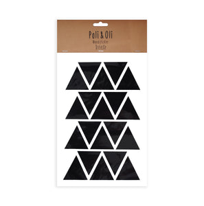 WALL STICKER - BLACK TRIANGLES