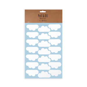 WALL STICKER - WHITE CLOUDS