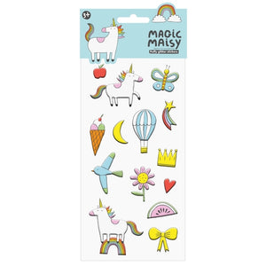 Magic Maisy Glossy Puffy Stickers