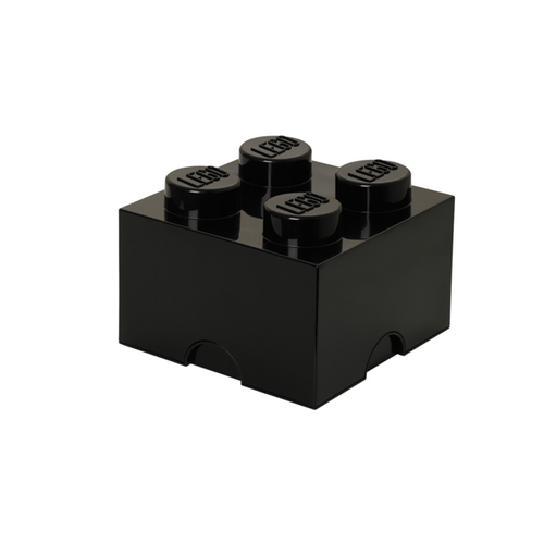 LEGO Storage Brick 4 Black