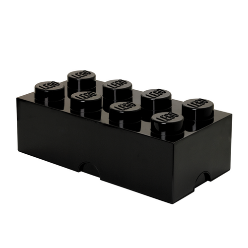 LEGO Storage Brick 8 Black