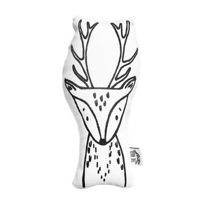 Kids Throw Pillow - Rachel the Reindeer