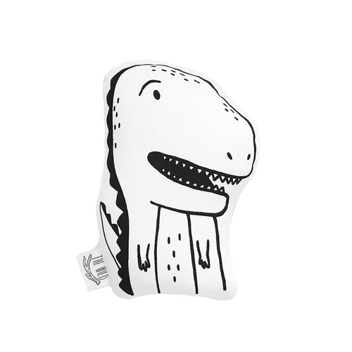 Kids Throw Pillow - Twiggy the T-Rex