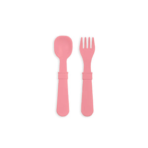 RePlay Utensil Pair - Lt.Pink