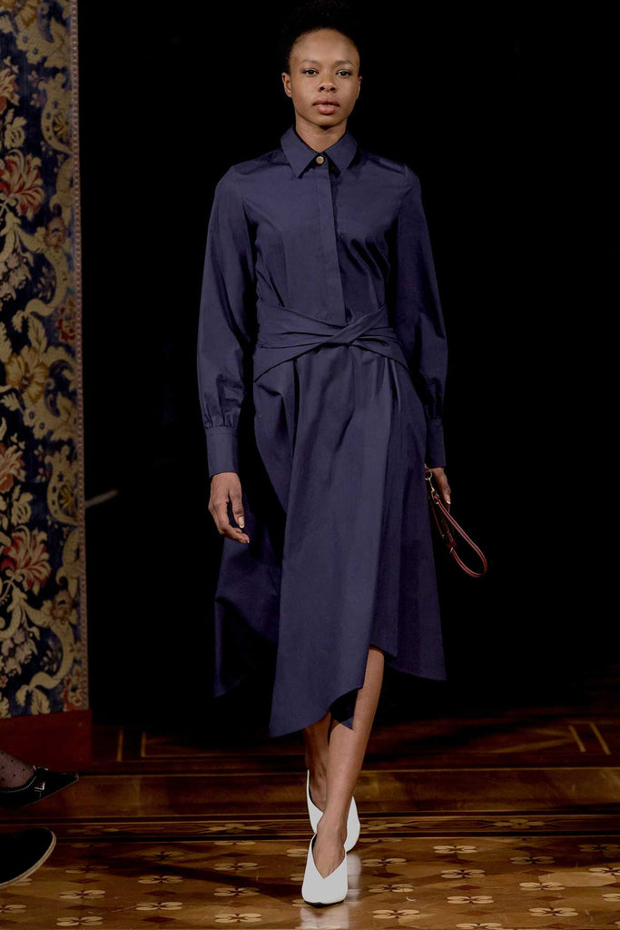 BLAKE SHIRT DRESS BLUE