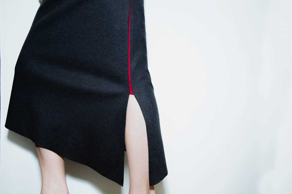 ISHII SWEATER SKIRT