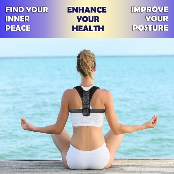 Back Adjustable Posture Corrector Brace