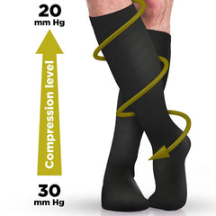 Best Level Black Compression Socks - 4well