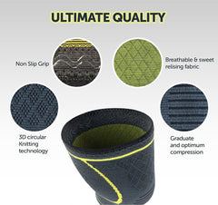 Ultimate Quality Knee Compression Support Sleeve - 4well
