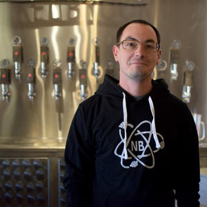 Load image into Gallery viewer, Nickel Brook Black Atom Hoodies - Burlington Ontario Craft Beer