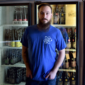 Nickel Brook Blue Atom Logo Tee - Burlington Ontario Craft Beer