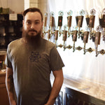 Grey Nickel Brook Atom Logo Tee - Craft Beer in Burlington, ON