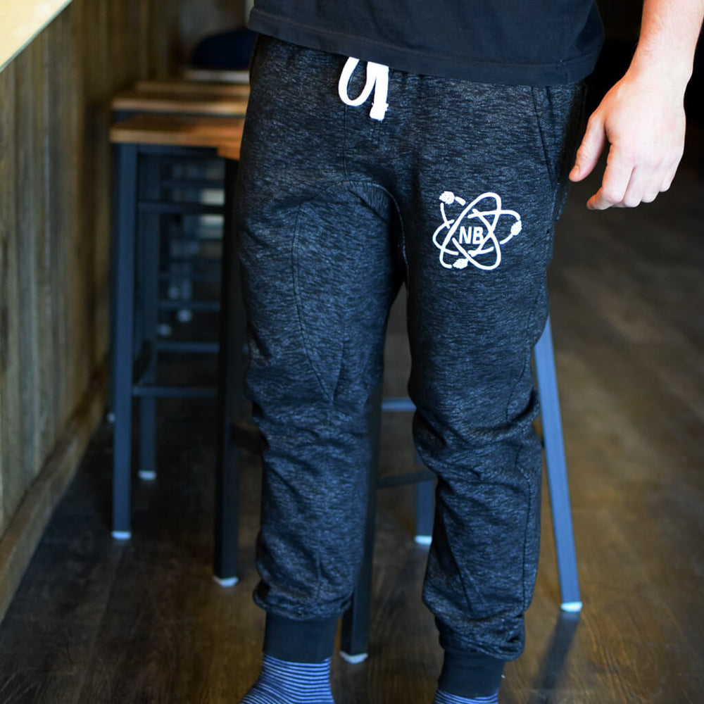 Cozy Jogger Pants with Nickel Brook Atom logo