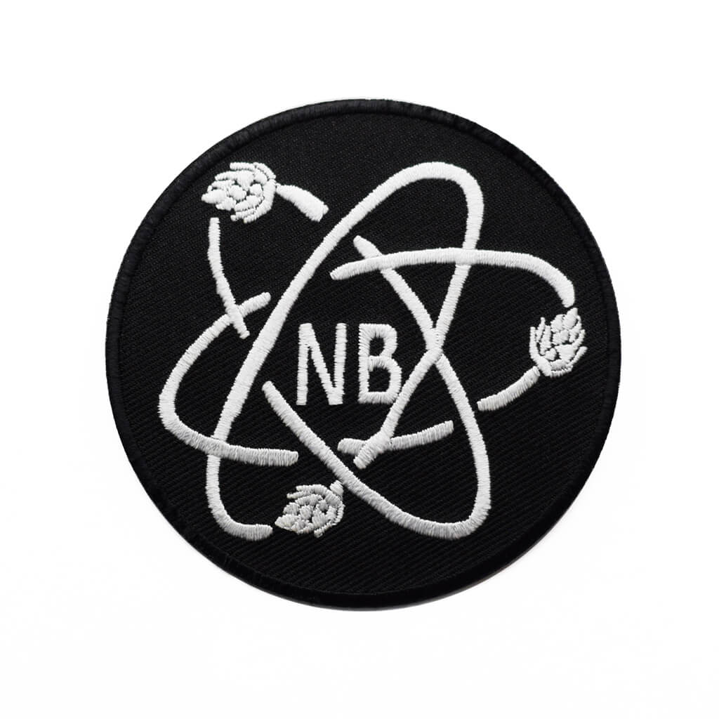 Nickel Brook Atom 3 Inch Iron On Patch
