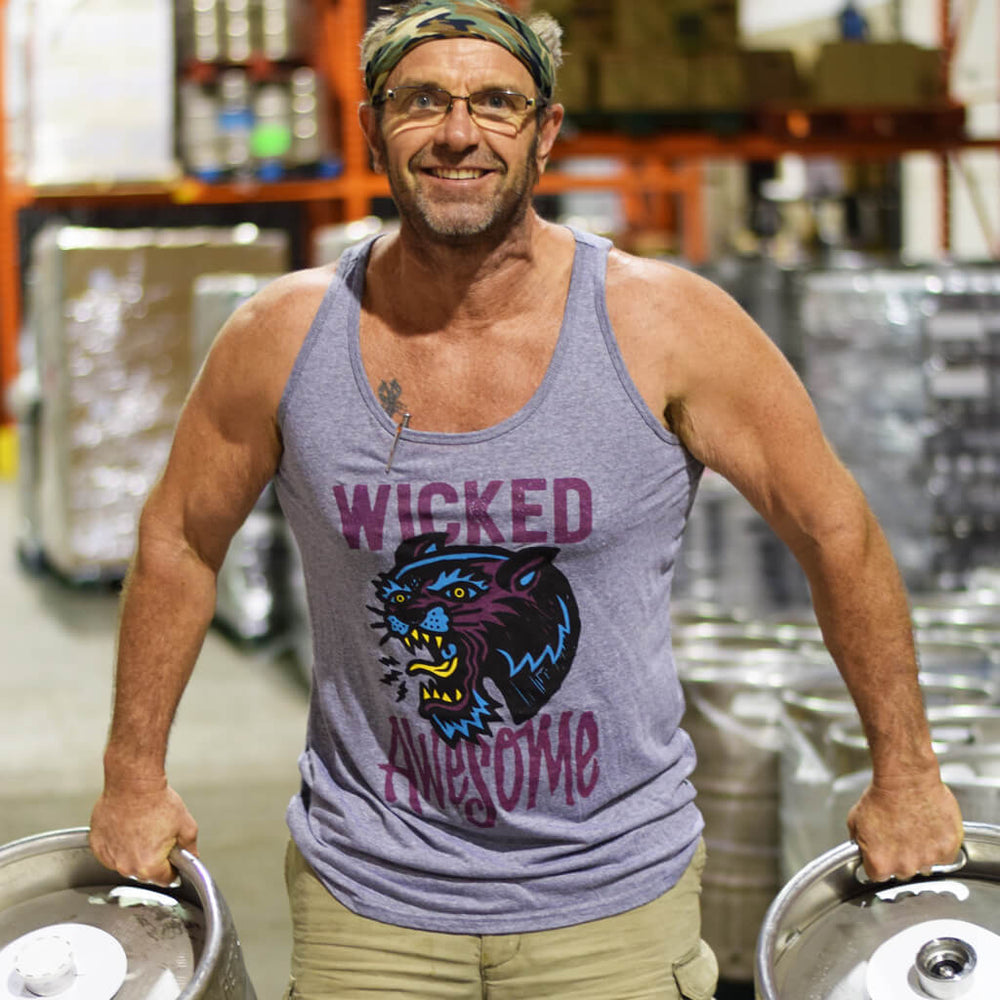 Wicked Awesome NEIPA Tank Tops from Nickel Brook Brewing