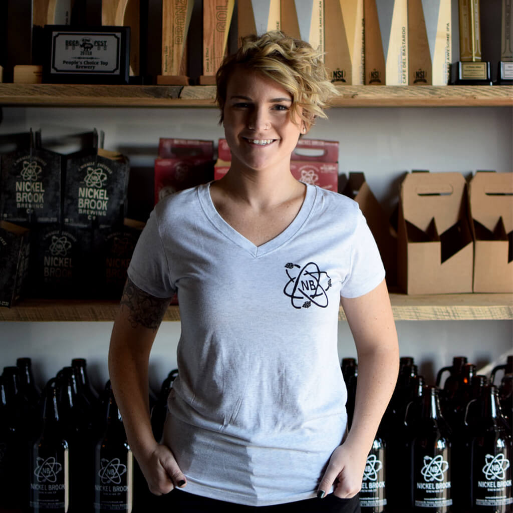 Ladies Atom Tee from Nickel Brook Brewing Co.