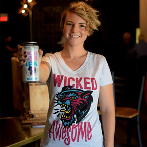 Ladies Wicked Awesome New England IPA Tee