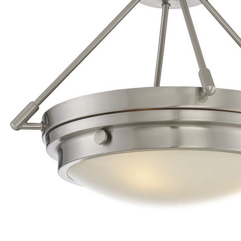 LUCERNE SATIN NICKLE LIGHTING-furniture stores regina-Hunters Furniture