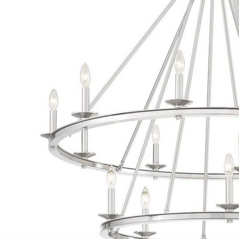 MIDDLETON SATIN NICKLE LIGHTING-furniture stores regina-Hunters Furniture