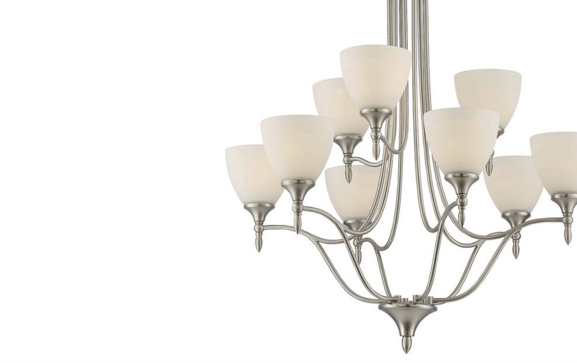 HERNDON SATIN NICKLE LIGHTING-furniture stores regina-Hunters Furniture