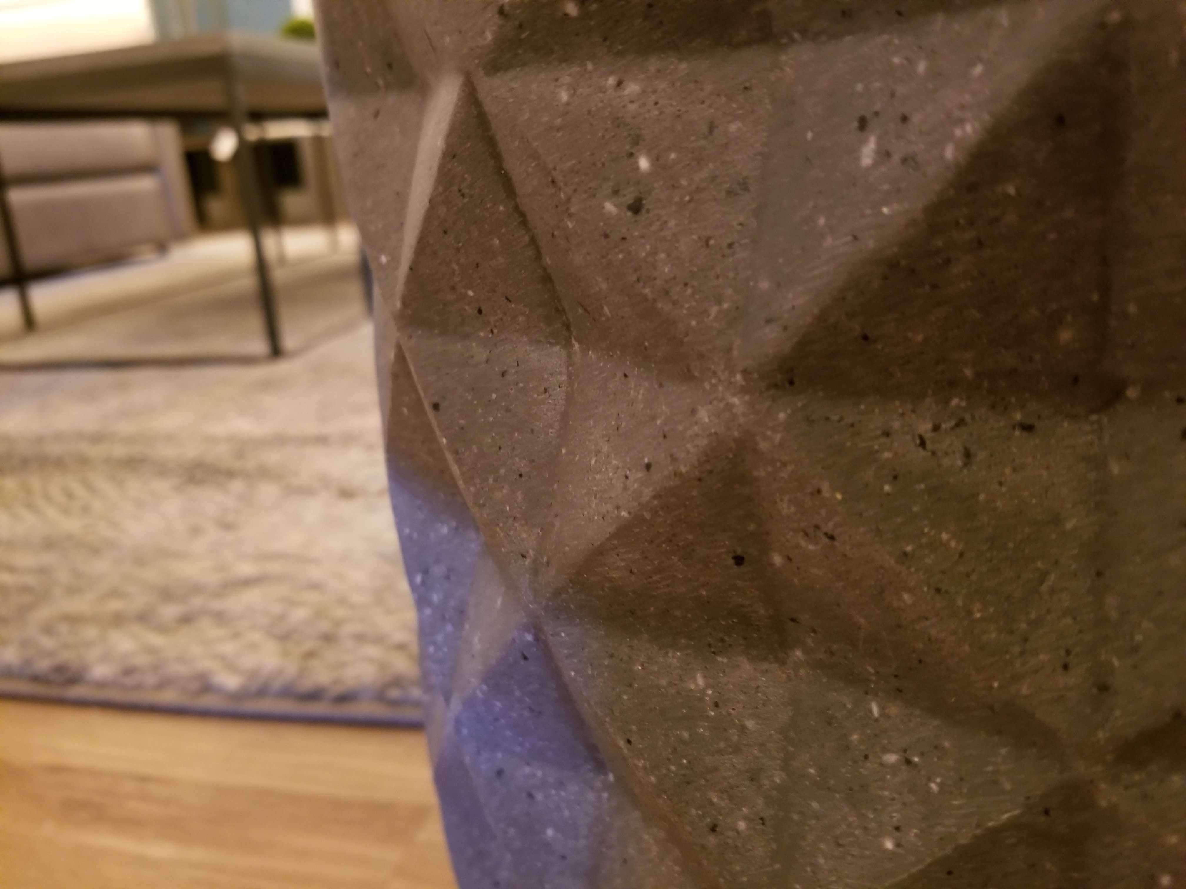 CONCRETE GREY PLANTERS-furniture stores regina-Hunters Furniture