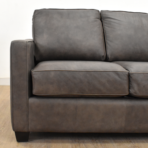 HAMILTON CUSTOM LEATHER SOFAS-furniture stores regina-Hunters Furniture