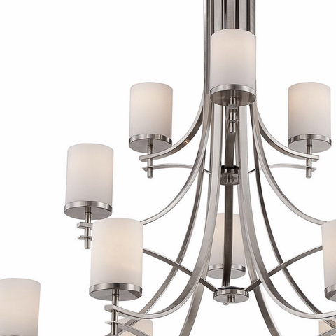 COLTON SATIN NICKLE LIGHTING-furniture stores regina-Hunters Furniture
