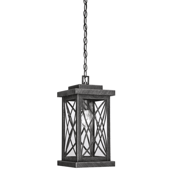 (Item Discontinued) Norwalk Outdoor Hanging Lantern Brushed Bronze-furniture stores regina-Hunters Furniture