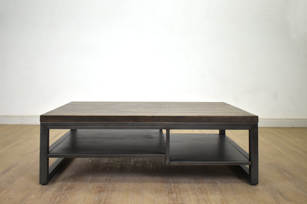 "(Item Discontinued) TORONTO Espresso Brown White Oak - 15.75"" Coffee Table - FINAL SALE-furniture stores regina-Hunters Furniture"