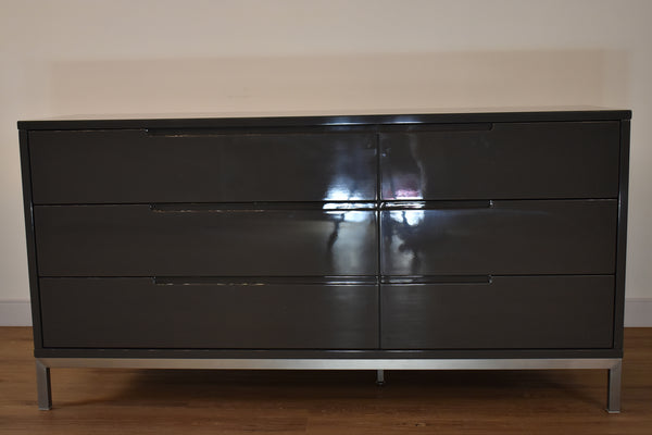 "MANHATTAN Grey Wood - 64"" Dresser-furniture stores regina-Hunters Furniture"