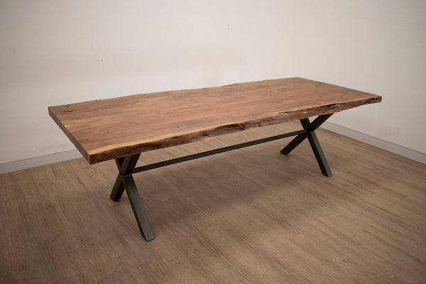 "TOFINO Natural Finish Live Edge - 98"" Dining Table-furniture stores regina-Hunters Furniture"