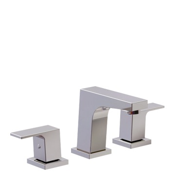 RIGA WIDESPREAD LAVATORY FAUCET CHROME