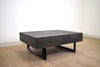 "YORK 42.5"" Coffee Table Dark Natural Wood Exotic Hardwood"