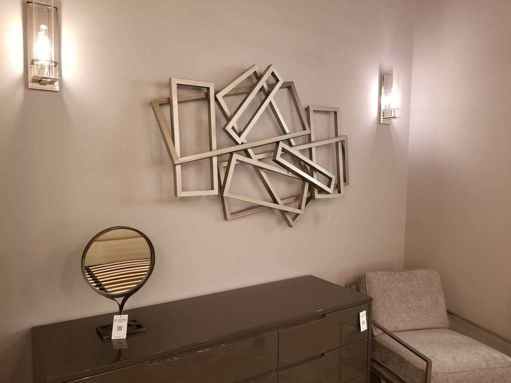 "Iron Metal - 53"" Wall Décor-furniture stores regina-Hunters Furniture"