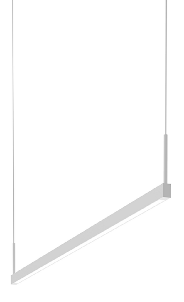 Thin-Line 4' Two-Sided LED Pendant Satin White-furniture stores regina-Hunters Furniture
