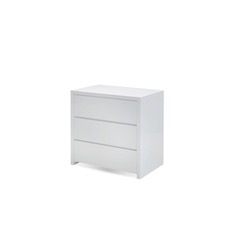 FALSE CREEK Matte White Wood - Dresser-furniture stores regina-Hunters Furniture