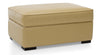 "VAUGHAN CUSTOM LEATHER OTTOMAN 42""-furniture stores regina-Hunters Furniture"