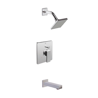 RIGA PRESSURE BALANCETUB/SHOWER SYSTEM CHROME