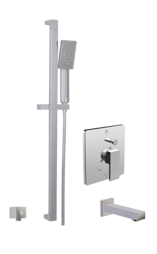 RIGA THERMONE TUB/SHOWER SYSTEM CHROME