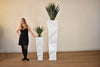 "MALIBU White Fibreglass - 60"" Planter-furniture stores regina-Hunters Furniture"