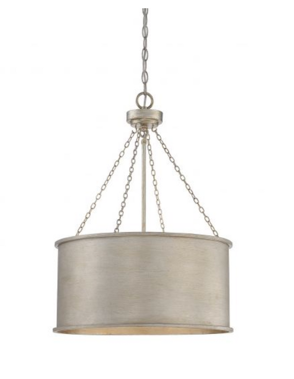 Rochester 4 Light Pendant Silver Patina-furniture stores regina-Hunters Furniture