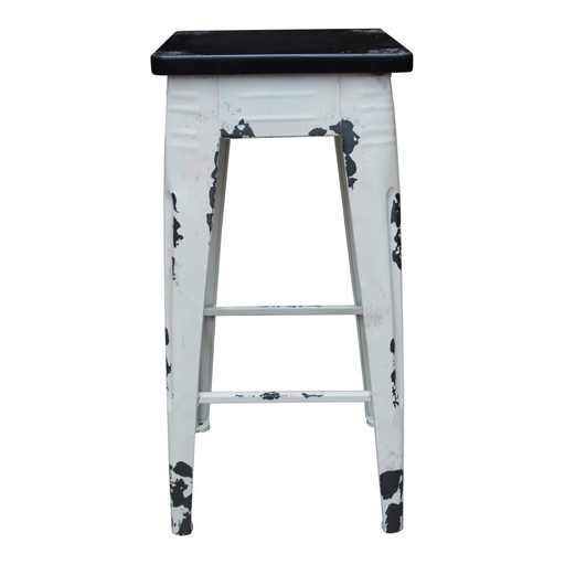 STURDY COUNTER STOOL WHITE-furniture stores regina-Hunters Furniture