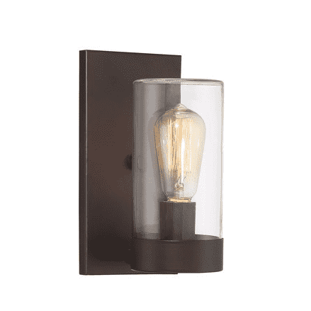 Inman 1 Light Outdoor Sconce English Bronze-furniture stores regina-Hunters Furniture
