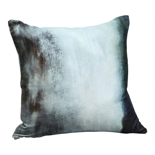 MURKY WATER VELVET FEATHER CUSHION 25X25-furniture stores regina-Hunters Furniture