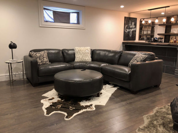 LONDON PACIFIC CHARCOAL CURVED SECTIONAL 3pc-furniture stores regina-Hunters Furniture